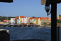America, Carribean, Curacao, Netherlands Antilles, Dutch,  Wilhelmstad, old town, down town, colorful houses, chanel, floating bridge, , holiday, vacation, recovering, relaxation, recreation