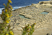 Europe, Malta, Gozo, Mediterranean Sea, ally commonwealth, Limestone Bay, salt pans