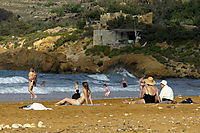 Europe, Malta, Gozo, Mediterranean Sea, ally commonwealth, Ramla Bay Beach