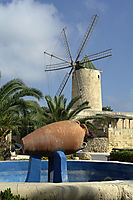 Europe, Malta, Gozo, Mediterranean Sea, ally commonwealth, Windmill in Ta Kola