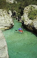 Europe, Slovenia, karst, julian alps, river, kayak, kayaktour, whitewater kayaking